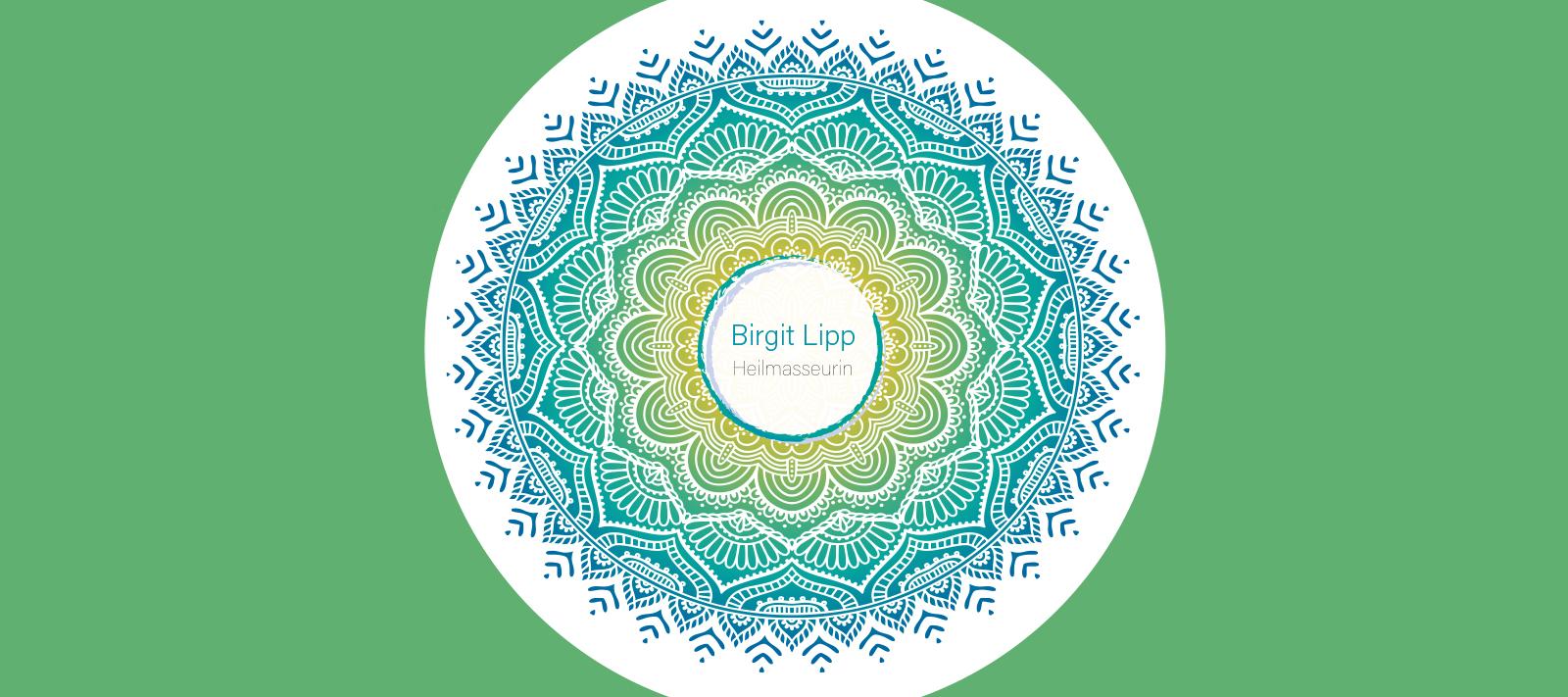 Logo Birgit Lipp Heilmasseurin / Mandala
